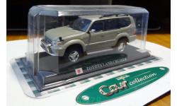 Toyota Land Cruiser Prado 95, DelPrado, металл, 1:43, не распакован