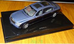 Maybach 62 LWB, AutoArt, металл, 1:43