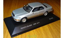 Toyota Celsior 1989 UCF11, TOSA, 2-tone, 1:43, металл, масштабная модель, 1/43