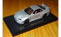 Nissan Skyline GT-R R34 Nismo Z-Tune, silver, Ebbro, 1:43, металл, масштабная модель, scale43