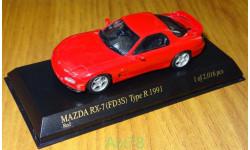 Mazda RX-7 (FD3S) Type R 1991, Howsakt Kyosho, 1:43, металл, масштабная модель, 1/43