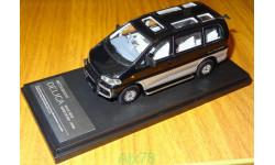 Mitsubishi (MMC) Delica Space Gear 1994, Black, Hi-Story, 1:43, смола