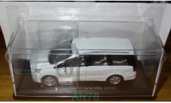 Mitsubishi Grandis ( 2003) Японская журналка №124, 1:43, метал, в блистере