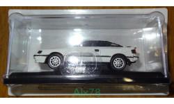 Toyota Celica GT-FOUR (1986) Японская журналка №177, 1:43, металл, форма Dism, в блистере