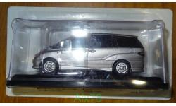 Toyota Estima (2001) Японская журналка №138, 1:43, металл, в блистере
