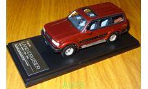 Toyota Land Cruiser 80 VX Limited 1989-1998, Hi-Story, 1:43, Смола, масштабная модель, 1/43