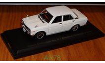 Nissan Bluebird 1600 SSS 1969 Японская журналка Nissan Collection, масштабная модель, scale43, Norev