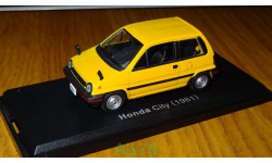 Honda City (1981), Японская журналка №63, металл, 1:43, масштабная модель, 1/43, Norev