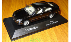 Nissan Cima 450 XV, Black, J-collection, 1:43, металл
