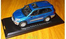 Toyota RAV 4 5 -door (2001) Японская журналка №106, 1:43, металл, в боксе, масштабная модель, scale43, J-Collection
