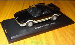 Toyota MR2 (1984) Японская журналка №43, 1:43, металл, в боксе
