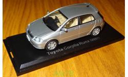 Toyota Corolla RUNX (2001), Японская журналка №102, 1:43, металл, масштабная модель, 1/43, J-Collection