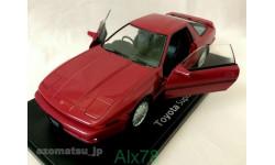 Toyota Supra A70 1986, Hachette, 1:24, металл, в блистере