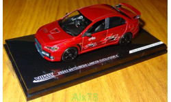 Mitsubishi Lancer Evolution X RallyArt, Vitesse, 1:43, металл, масштабная модель, 1/43