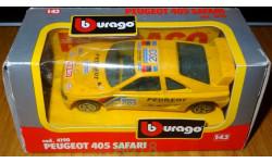 Peugeot 405 Safari, Bburago, cod. 4190, 1:43, Италия 1992 год