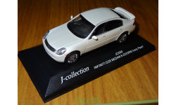 Infiniti G35 Sedan (Skyline), Pearl, J-Collection, 1:43, металл