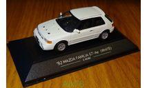 Mazda Familia GT-Ae 1992 E-BG8Z, SAPI, 1:43, металл, масштабная модель, 1/43