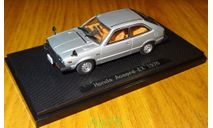 Honda Accord EX, 1976, Ebbro, 1:43, металл, масштабная модель, 1/43