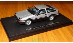Toyota Sprinter Trueno (AE86) 1983, Ebbro, 1:43, металл