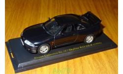 Nissan Skyline GT-R R33 1995, Японская журналка Nissan Collection №18, 1:43, металл, масштабная модель, Norev, 1/43