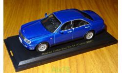 Nissan Cedric 2001, Японская журналка Nissan Collection №54, 1:43, металл, масштабная модель, Norev, 1/43