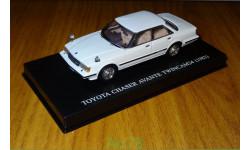 Toyota Chaser Avante Twin Cam 24 GX61 (1982) 1/43 Aoshima DISM, масштабная модель, 1:43