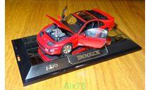 Nissan 300ZX, red, KATO, LHD, 1:43, кузов пластик-дно металл, масштабная модель, 1/43