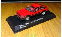 Toyota Corolla Levin (AE86) Early, Kyosho, 1:43, металл, масштабная модель, 1/43