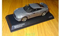 Nissan GT-R R35 2008, Titanium Gray, Kyosho, 1:43, металл, масштабная модель, 1/43