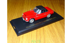 Nissan Datsun Fairlady 2000 (1967), Nissan Collection №1, 1:43, металл, масштабная модель, Hachette, 1/43