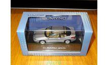Subaru Alcyone SVX Silver, Norev Lumyno, 1:43, металл, масштабная модель, 1/43