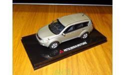 Mitsubishi Outlander, RHD, Gold, Vitesse, 1:43, Металл, Диллерский