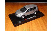 Mitsubishi Outlander, RHD, Silver, Vitesse, 1:43, Металл, Диллерский, масштабная модель, scale43