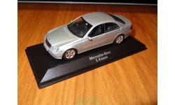 Mercedes-Benz E-Klasse, Minichamps, 1:43, металл