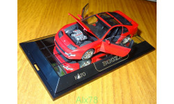 Nissan 300ZX, red, KATO, LHD, 1:43, кузов пластик-дно металл, масштабная модель, scale43