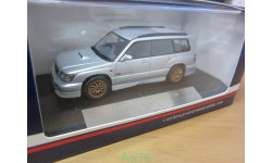 Subaru Forester S/tb STI 2000, Silver, Hi-Story, 1:43, Смола, Под Заказ!!!, масштабная модель, scale43