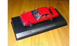 Nissan Skyline HT 2000 RS 1981, Aoshima Dism, 1:43, металл, масштабная модель, scale43
