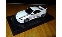 Nissan Skyline GT-R (BCNR33) VeilSide COMBAT II, 1:43, coldcast, масштабная модель, 1/43, AOSHIMA