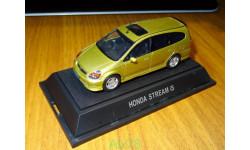 Honda Stream IS, Ebbro, 1:43, металл