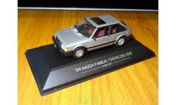 Mazda Familia 1500XG 1984 E-BD1051, Silver, SAPI, 1:43, металл, масштабная модель, 1/43