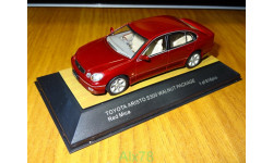 Toyota Aristo S300 Walnut Package, Red Mica, Tosa, 1:43, металл