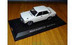 Nissan Bluebird SSS, Ebbro, 1:43, металл