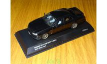 Nissan Skyline 25GT Turbo ER34 2000, Black Pearl, Kyosho, 1:43, металл, рестайл, масштабная модель, scale43
