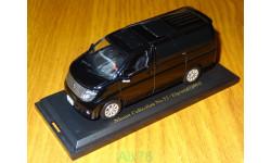 Nissan Elgrand (2004) дорестайл, Nissan Collection №52, 1:43, металл, в боксе