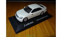 Toyota Crown Royal 2005, J-Collection, White Pearl, металл, 1:43, масштабная модель, scale43