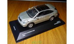 Toyota Harrier AirS 2006, Silver Metallic, J-collection, металл, масштабная модель, scale43