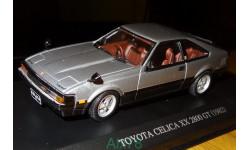 Toyota Celica XX 2800 GT 1982, Aoshima Dism, 1:43, металл, масштабная модель, 1/43