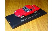 Mazda Cosmo Sport L10B, 1968, 1:43, металл, в боксе, масштабная модель, Norev, scale43