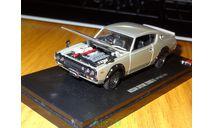 Nissan Skyline 2000 GT-R (KPGC110), Kyosho, 1:43, металл, масштабная модель, scale43