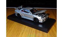 Nissan Skyline GT-R R34 Nismo Z-tune, Kyosho, металл, 1:43, масштабная модель, scale43